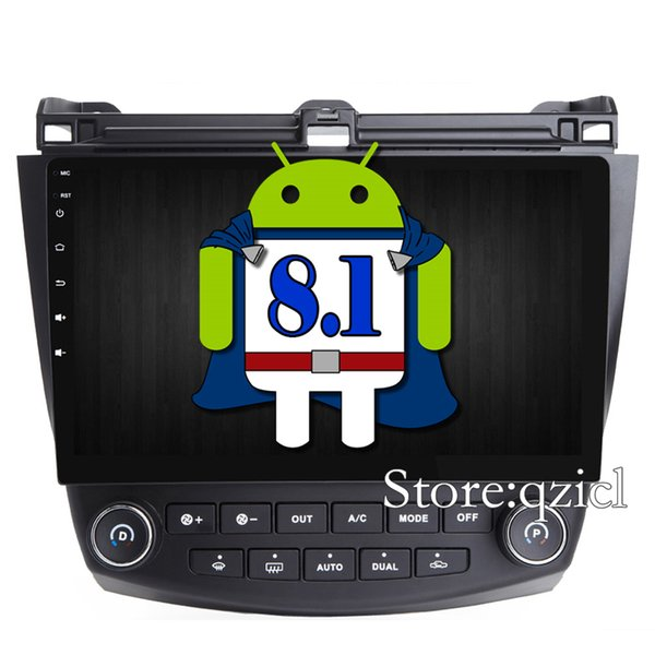 Android 8.1 Car DVD Player for Honda Accord 7 2004 2005 2006 2007 GPS Navigation System Car Radio RDS WiFi SWC Map