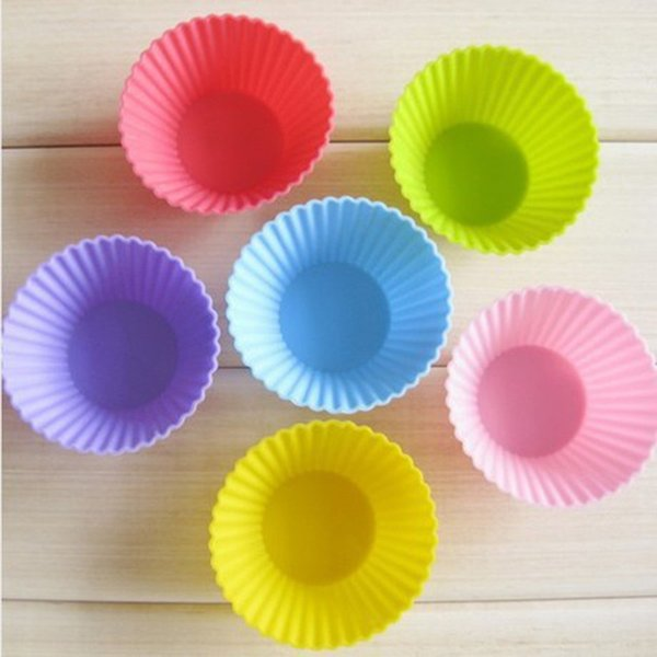 500pcs Silicone Muffin Cake Cupcake Cup Cake Mould Case Bakeware Maker Mold Tray Baking Jumbo