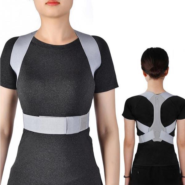 Adjustable Back Brace Belt Spine Posture Corrector Shoulder Support Body Posture Correction Back Orthosis Corset Pain Relief