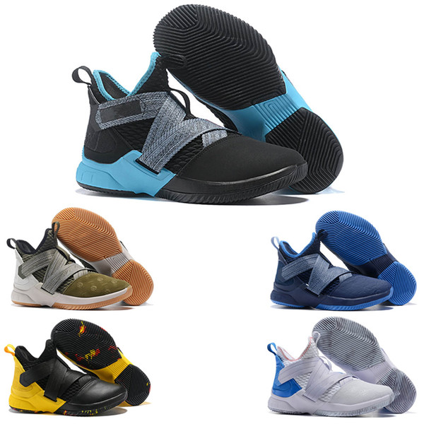 promo code 415c9 794bc soldier 12 Basketball Shoes for Mens ZOOM 12s SFG EP Sports Training  Sneakers Court General designer shoes Outdoor shoes