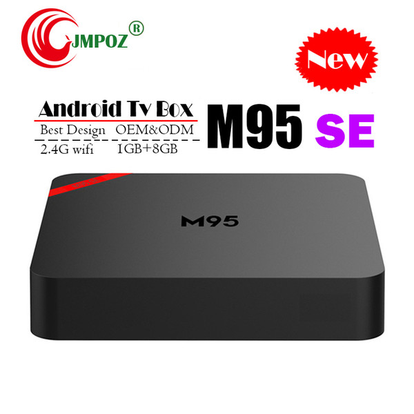 2019 Cheapest M95 SE Android 7.1 Tv Box Quad Core 1GB 8GB H3 Chip Support Wifi 4K 3D Media Player Smart Tv Box Better TX3 X96 S905W