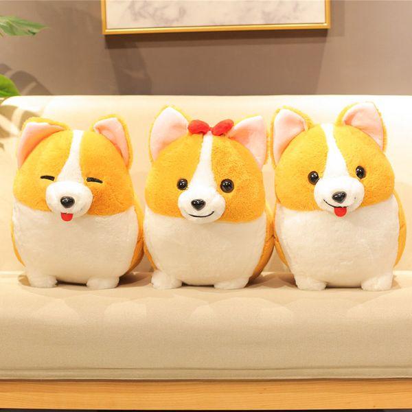 Nooer Shiba Inu Plush Toys For Children Kids Toy Girl Cute Dog Stuffed Plush Doll Kids Toy Soft Animal Friend Gift
