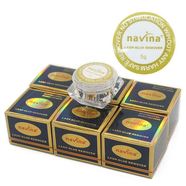 Navina 5g Eyelashes Extension Glue Remover NO Stimulation Without Any Harm for Makeup Fake False Eyelash Glue Safe Remover