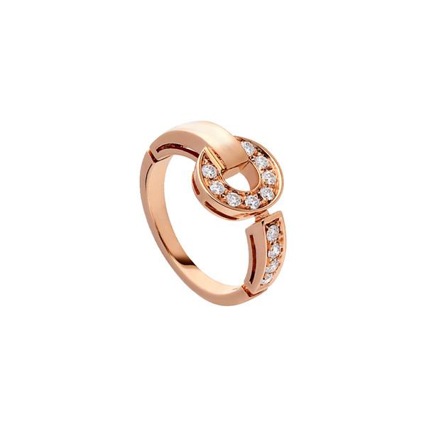 Bestries New Sale Luxury Bulgaria White Gold Lovers Anniversary Gift Diamond Crystal Gemstone Rose Gold Ring Free Shipping Jewelr