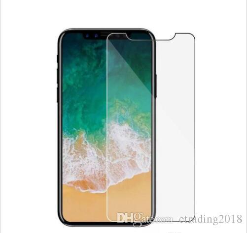 Für iphone x xr xs max 8 7 6s plus gehärtetem glas displayschutzfolie 9h 2.5d anti-splitter film