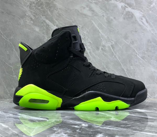 2019 Nuovo 6 nero verde Fluorescente Ali VI Uomo Bianco scarpe sportive 6s scarpe da ginnastica all'aperto da ginnastica con scatola taglia 7-13