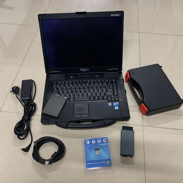 VAS 5054A OKI ile tam Çip V8.1.3 ODIS + 480 GB SSD + Kullanılan CF-52 4g vas 5054a Otomatik teşhis Aracı