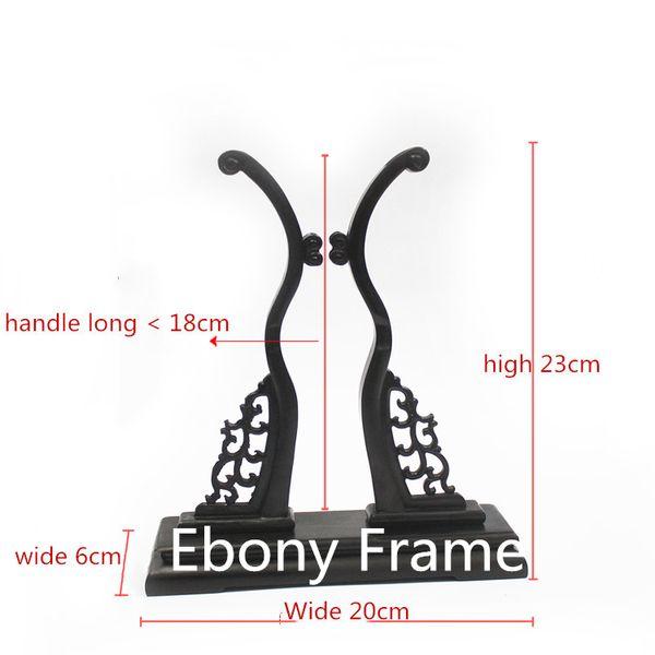 ebony fan frame