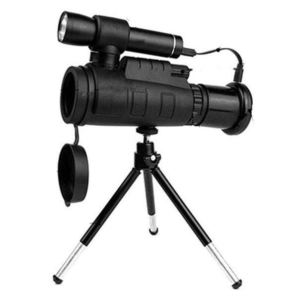 ABZB-Infrared Telescope Digital Potente Monocular 40X60 Zoom Monocular Telescope Para Smartphone com tripé