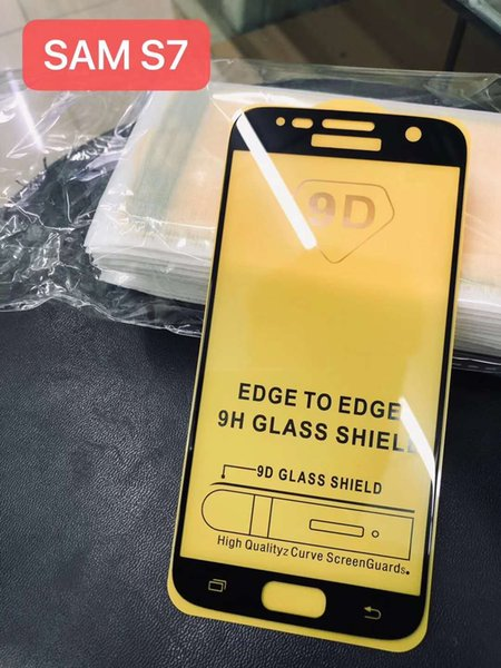 5D Full Glue Tempered Glass Protector For Huawei P30 Lite Mate 20 Y6 Pro 2019 Honor V20 Play Redmi Note 7 9D Coverage Screen Protector Film
