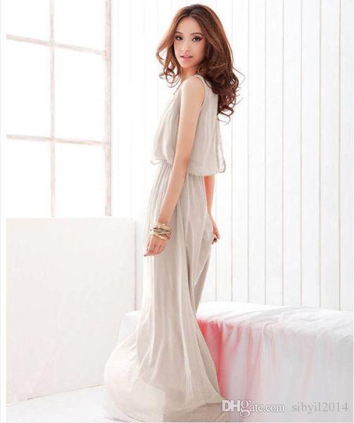 Silm Лето и осень с ярдов женщин длинная шифоновая юбка богемное платье пляжное платье женское платье