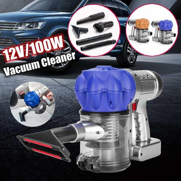 3500pa Forte puissance aspirateur de voiture DC 12V 100W Portable Handheld Cyclonic Wet / Dry Auto Portable Aspirateurs sans fil Cleaner