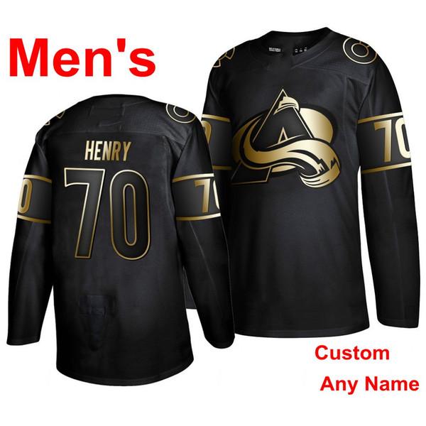 Мужчины#039; s black-Golden Edition
