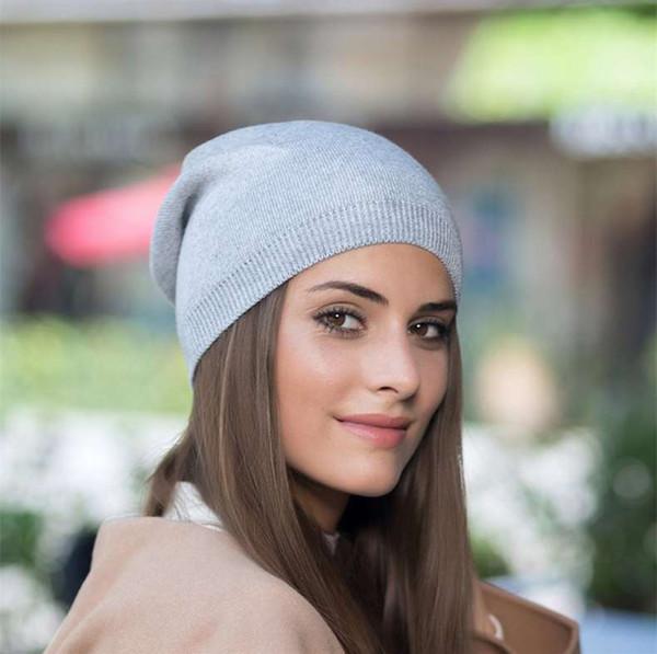 Warme weiche gestrickte Beanies der Frauen Hut-Damewinter Slouchy Beanie-Geschenk-Qualitäts-Häkelarbeit-Kappe Neue Ankunft