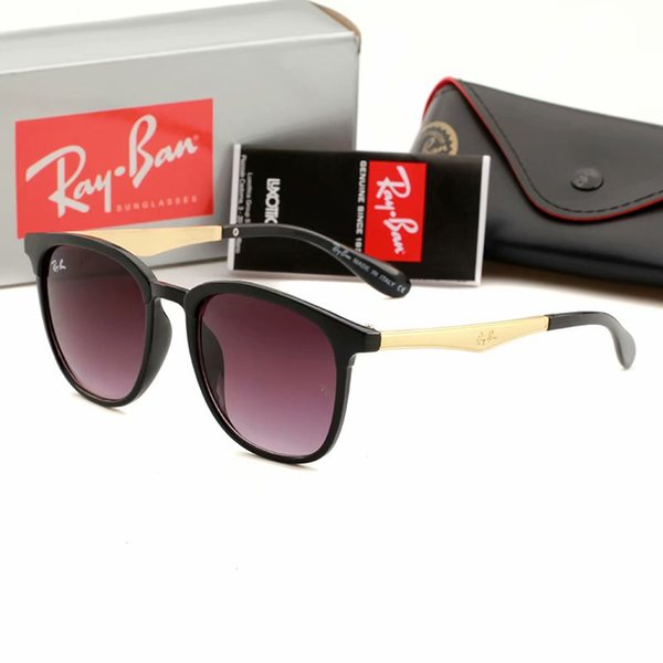 Diseñador de marca Polarized Men mujeres Gafas de sol Montura semi sin montura Gafas de conducción Lentes polarizadas con estuche marrón gratis y accesorios