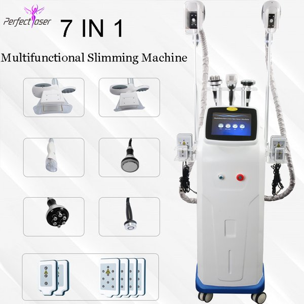 New cryolipolysis fat freezing machine mini cryo double chin removal ultrasound cavitation fat reduction rf skin tighten lipo laser slim