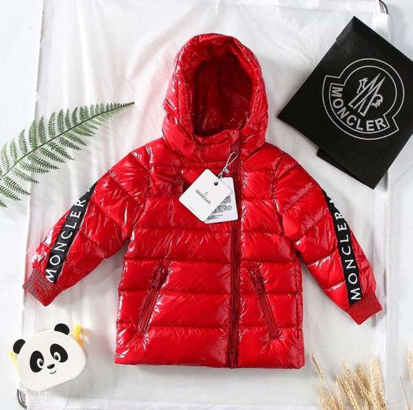 Kids Winter Jacket Baby Boy Girl Clothes Girls Boys Waterproof Snowsuit Gold Silver Down Jacekts Children Hooded Parka Luxury aab B1015219T