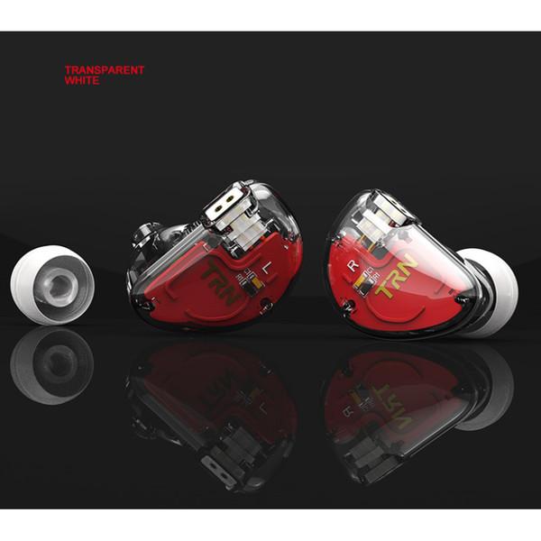 TRN V30 Hybrid 2BA + 1DD In-Ear-Kopfhörer IEM HIFI-Kopfhörer Monito Sport Earplug 3 Drive Headset 2Pin Abnehmbares Kabel