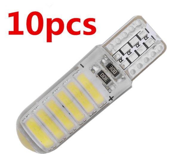 e Interior 12-24V Reading Bulb Car Width Light T10 LED W5W 3030 SMD 3D Ceramic