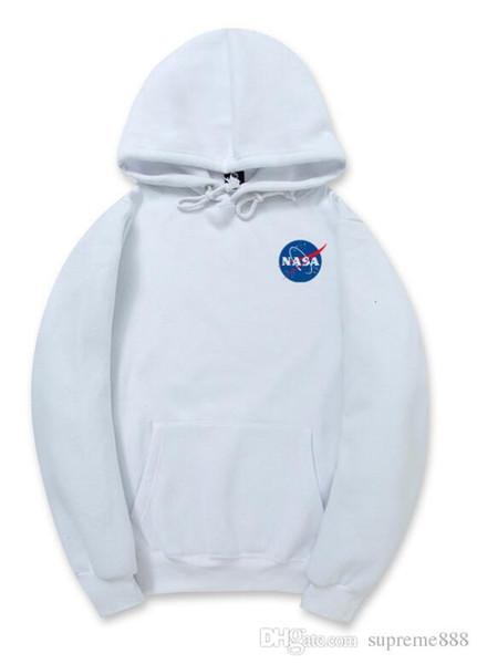 Yeezus sudaderas NASA para hombres mujeres sudadera con capucha sudores Harajuku streetwear para hombre kanye hip hop sudaderas oeste blanco