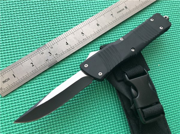 2019 FB01 Combat double action out the front automatic Knife Drop Point Straight Edge hunting tactical gear knives P939M Q