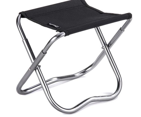 -2 Colors Naturehike Outdoor Portable Oxford Aluminum Folding Step Stool Camping Chair Seat Fishing Chair Camping Equipment 243g