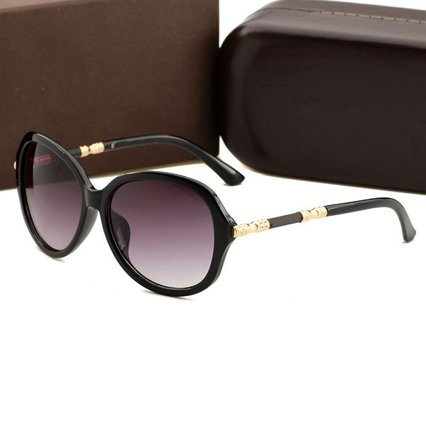 1 pcs de alta qualidade óculos de sol para mulheres e homens marca de moda designer de armação de metal ouro óculos de sol eyewear vem caixa