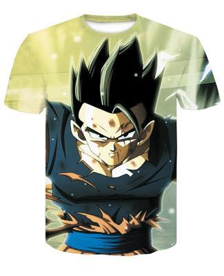 Cloudstyle 3d T Shirt Men Thanos Dragon Ball Super Goku 3d Full