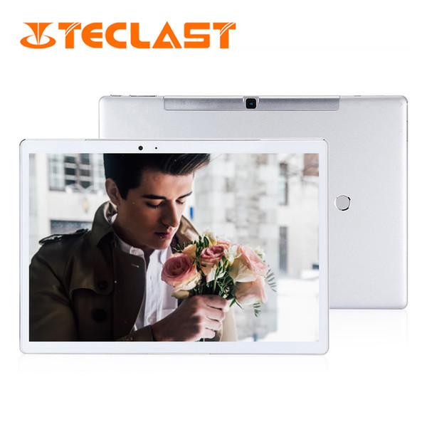 Teclast T10 Tablet PC 10.1 inç 2560x1600IPS Android 7.0 MT8176 Hexa Çekirdek 8.0MP + 13.0 MP Çift Kameralar Parmak İzi Sensörü Teclast