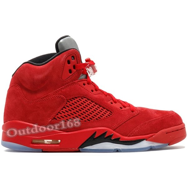 #26 Red Suede