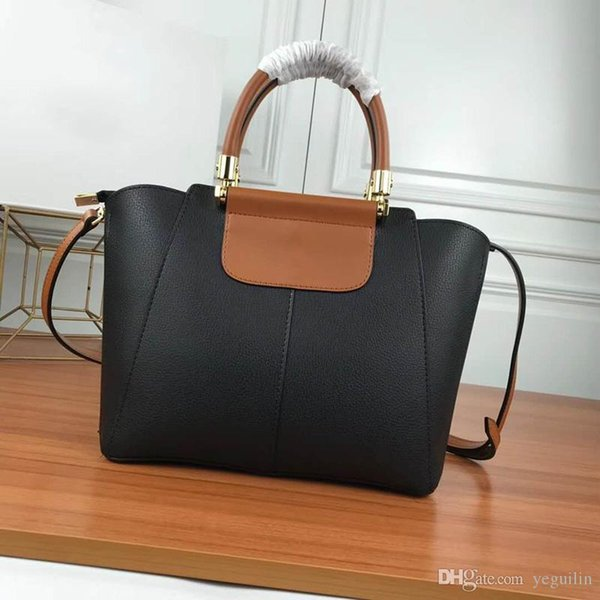 New Europe and the United States Italian leather business handbag Messenger bag ladies casual shoulder bag wallet B108C00a