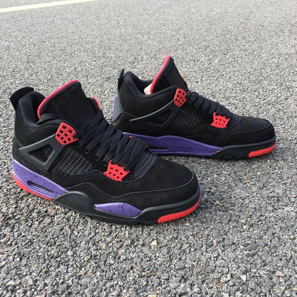 Дешевые спортивная обувь 4s Raptors баскетбол обувь Чемпионат тренд дизайнер кроссов