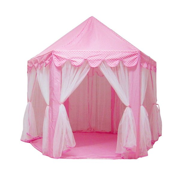 princess castle fairy capacity portable foldable toy tents girls children outdoor activity indoor game play house mosquito