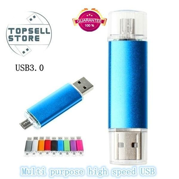 otg Usb Flash Drive HD Pendrive Data for Phone Usb Interface Pen Drive for PC 16-128GB