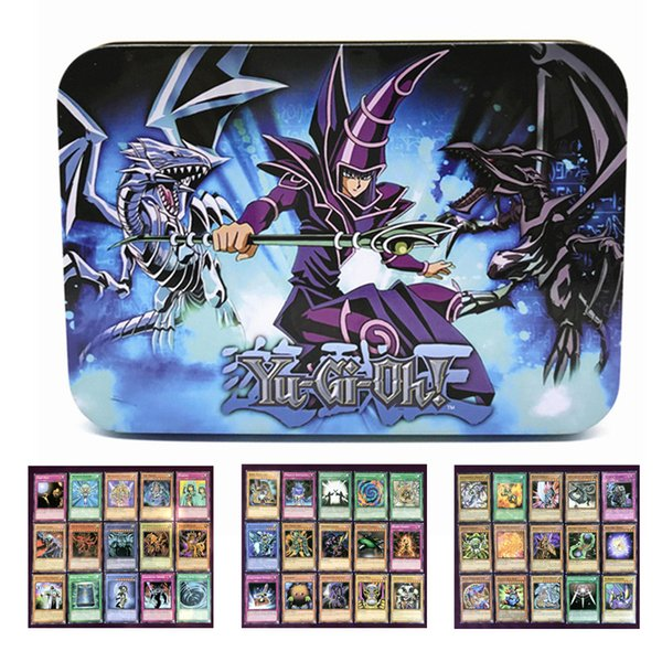 Yugioh cards Egyptian God collectible toys for boy free Yu-gi-oh metal box 66 pcs. action figures Japan Yu Gi Oh The legendary game Cartas