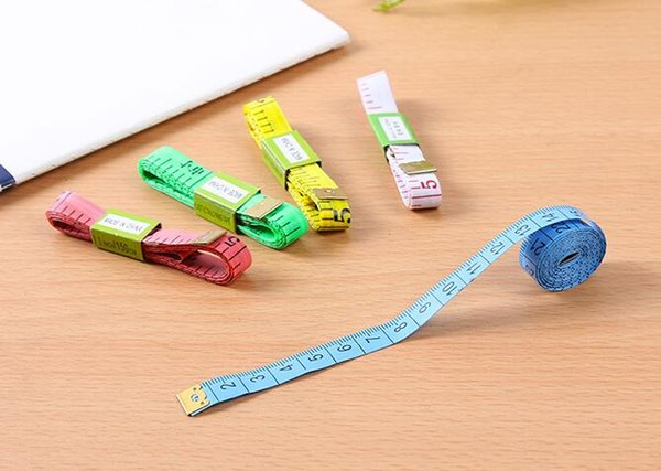 150CM 2018 PVC Material Sewing Machine Body Measuring Tape Cloth Sewing Ruler And Tailor Of Tape Measure 150CM Body Tape