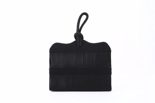 Kreative plissierten Handtasche Reine handgemachte japanische und koreanische Stil Stoffbeutel Die Partei verpacken Die Kupplung Neuheit Handtasche