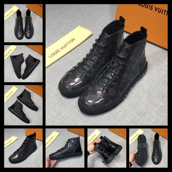 2019 Hot Men Shoes Fashion Warm Fur Winter Men Boots Autumn Leather Footwear For Man New High Top Canvas Casual Shoes Men