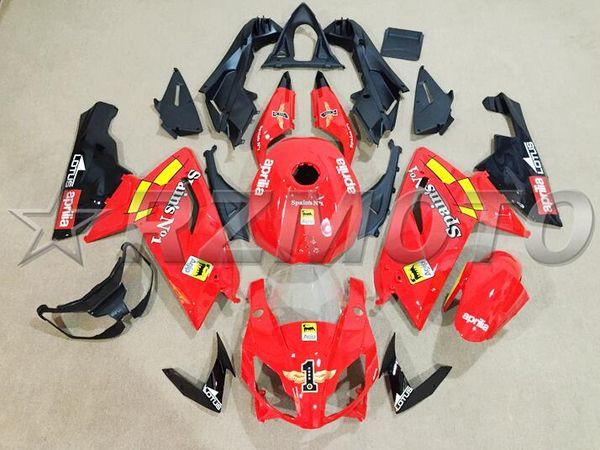 New ab motorcycle full fairing kit fit for aprilia r 125 06 07 08 09 10 11 r 125 2006 2011 fairing et bodywork red