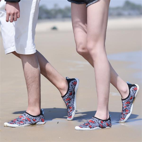 Kadın spor ayakkabı platformu Su Sporları Ayakkabı Yalınayak Çabuk Kuru Aqua Yoga Ayakkabı Yüzme Sörf sepetleri femme sneakers # G2