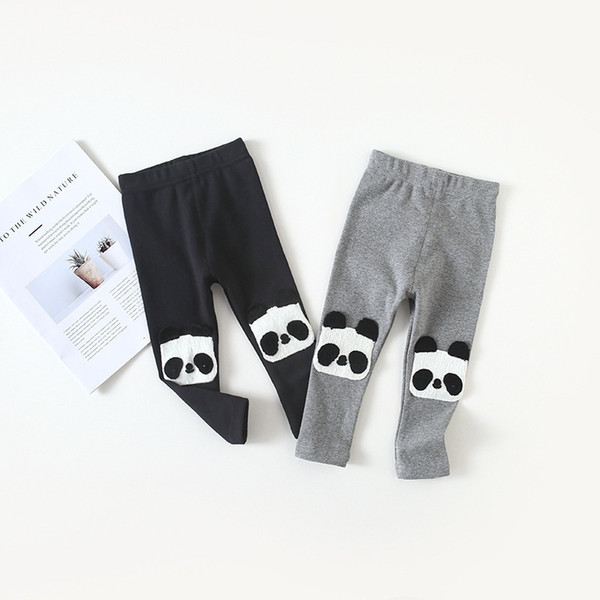Animal Panda Pattern Baby Girls Long Pants New Fashion Kids Baby Girls Cartoon Clothes Bottoms Leggings Pants Newborn Trousers