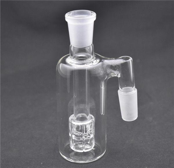 DAB petrol teçhizat için en yüksek kalite 90 derecelik 14 mm 18 mm ashcatcher cam su boruları matris süzücü kül tutucu kafa DAB bonglar sigara aksesuarı