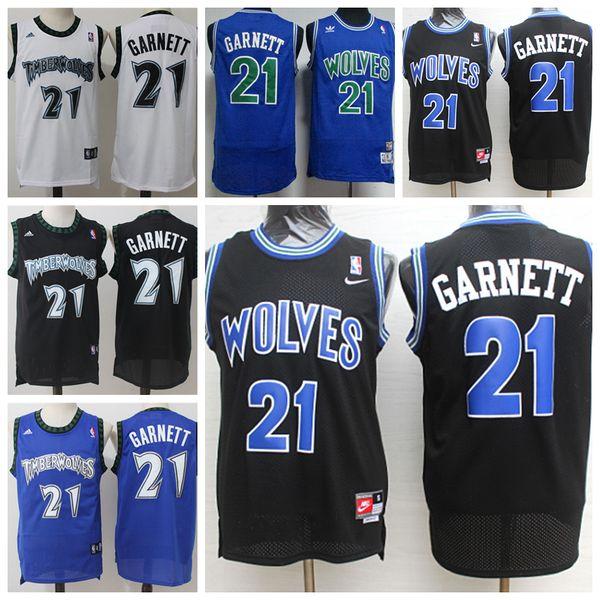 newest 7d477 78ae0 Retro Mens 21 Kevin Garnett Jerseys Timberwolves Basketball Jerseys  Stitched Hardwood Classic Mesh Kevin Garnett Retro Basketball Shirts Shirts  Shirt ...