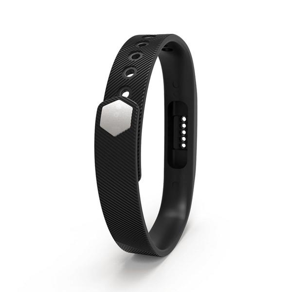 Per Fitbit flex 2 in morbido silicone TPE cinturini di ricambio cinturino cinturino cinturino cinturino da indossare cinturino 100 pz / lotto