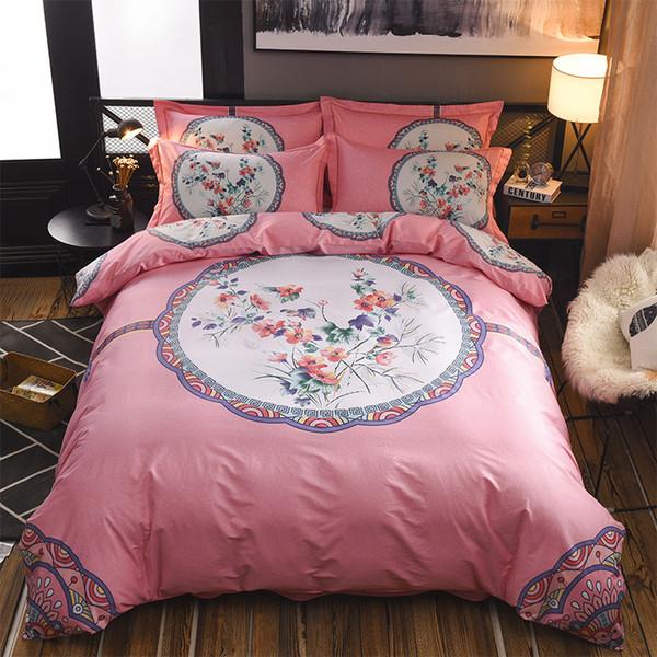 Egyptian Cotton Vintage Paisley Comforter Bedding Set King