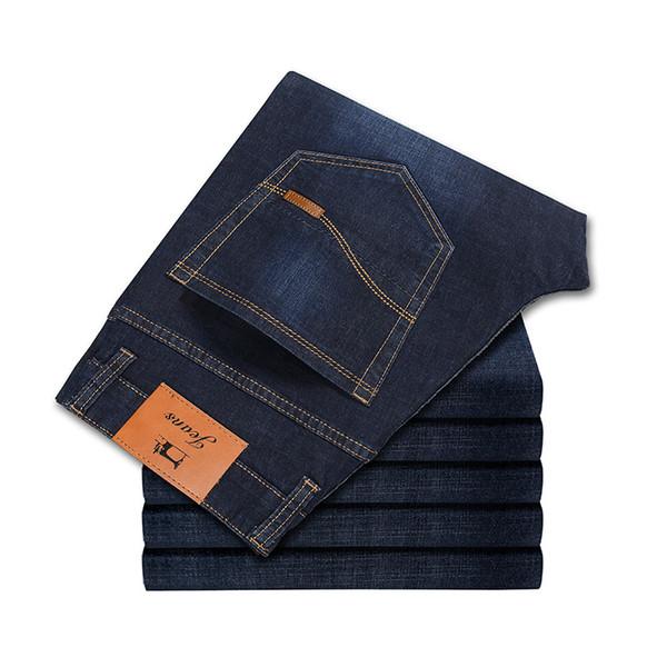 Vomint New Autumn Winter Jeans Men High Quality Famous Brand Denim trousers soft mens pants men's fashion Large Big size 40