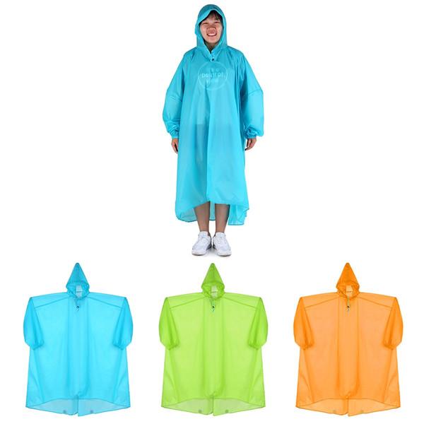 Плащ с капюшоном из нейлона Мягкий плащ от дождя Водонепроницаемая куртка-пончо с капюшоном