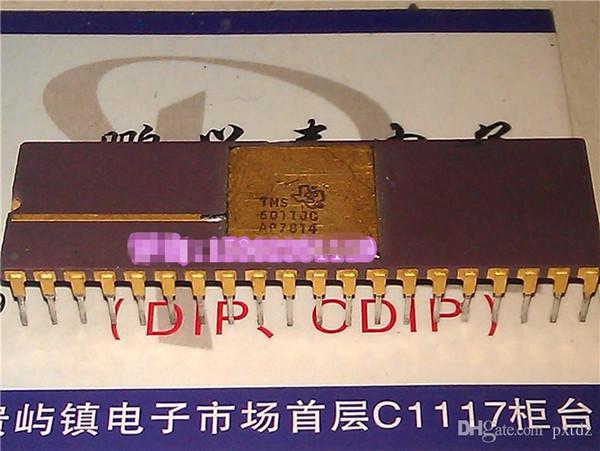 TMS6011JC. TMS6011, circuitos integrados de circuitos integrados de microelectrónica, chips Vintage de superficie dorada, paquete de cerámica de inmersión doble en línea de 40 pines