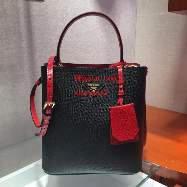 2019 marca sacos de moda Contraste de couro genuíno saco de compras mulheres bolsas bolsas saco crossbody de alta qualidade bolsas para as mulheres DEF-4