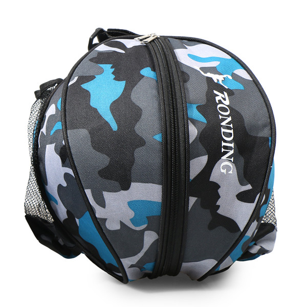 Outdoor Sports Shoulder Basketball Ball Bags Training Equipment Sports Ball Round Bag Soccer Ball Football Volleyball Backpack